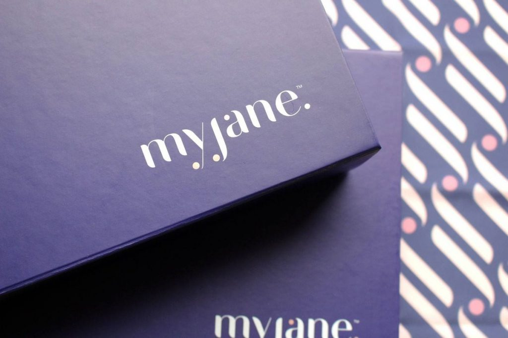 The MyJane Experience Box, a curated box with only the best cannabis products in California.